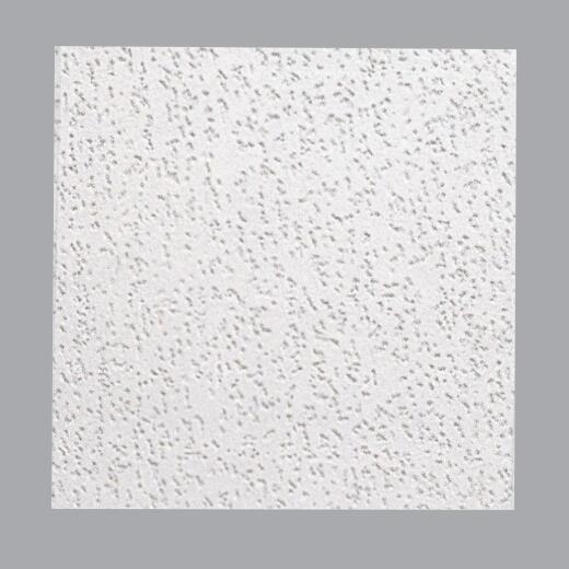 BP Silencio Carillon 12 In. x 12 In. White Wood Fiber Non Suspended Ceiling Tile (32-Count)