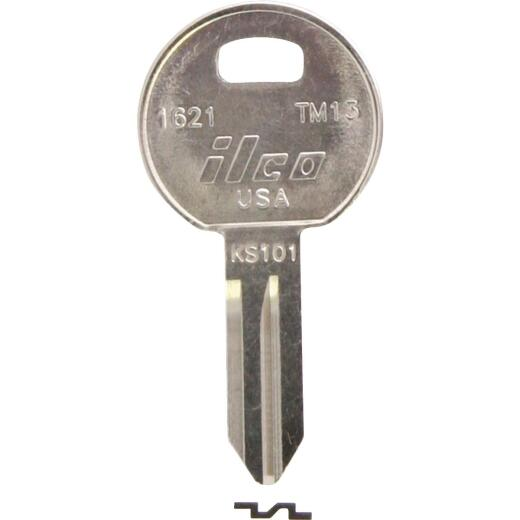 ILCO Trimark Nickel Plated Toolbox Key, TM13 (10-Pack)