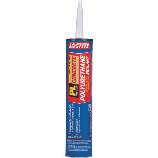 Loctite Pl Self-Leveling Sealant 10 Oz Limestone Gray Concrete Sealant