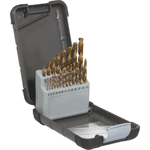 Do it Best 21-Piece Titanium Drill Bit Set, 1/16 In. thru 3/8 In.