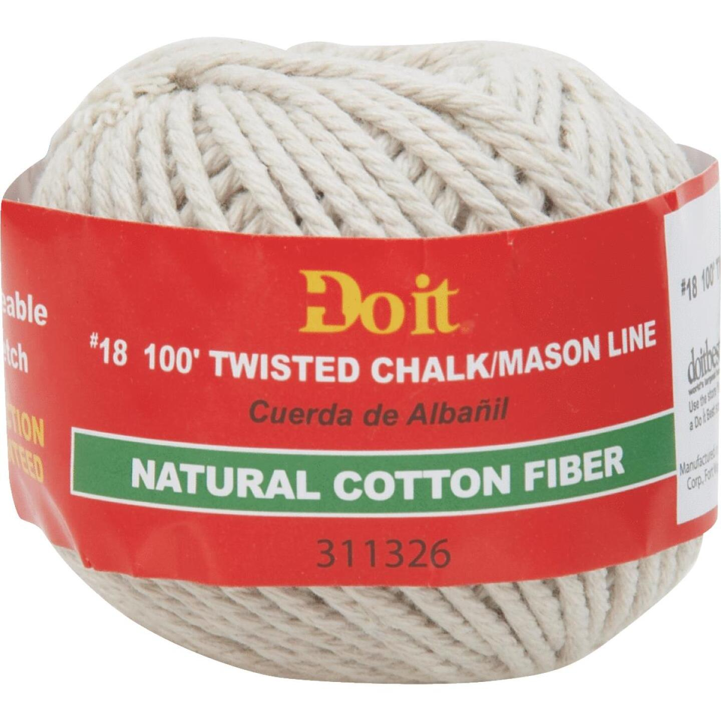 Do it 100 Ft. Twisted Cotton Chalk Line Image 1