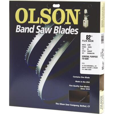Olson 82 In. x 3/8 In. 4 TPI Skip Flex Back Band Saw Blade