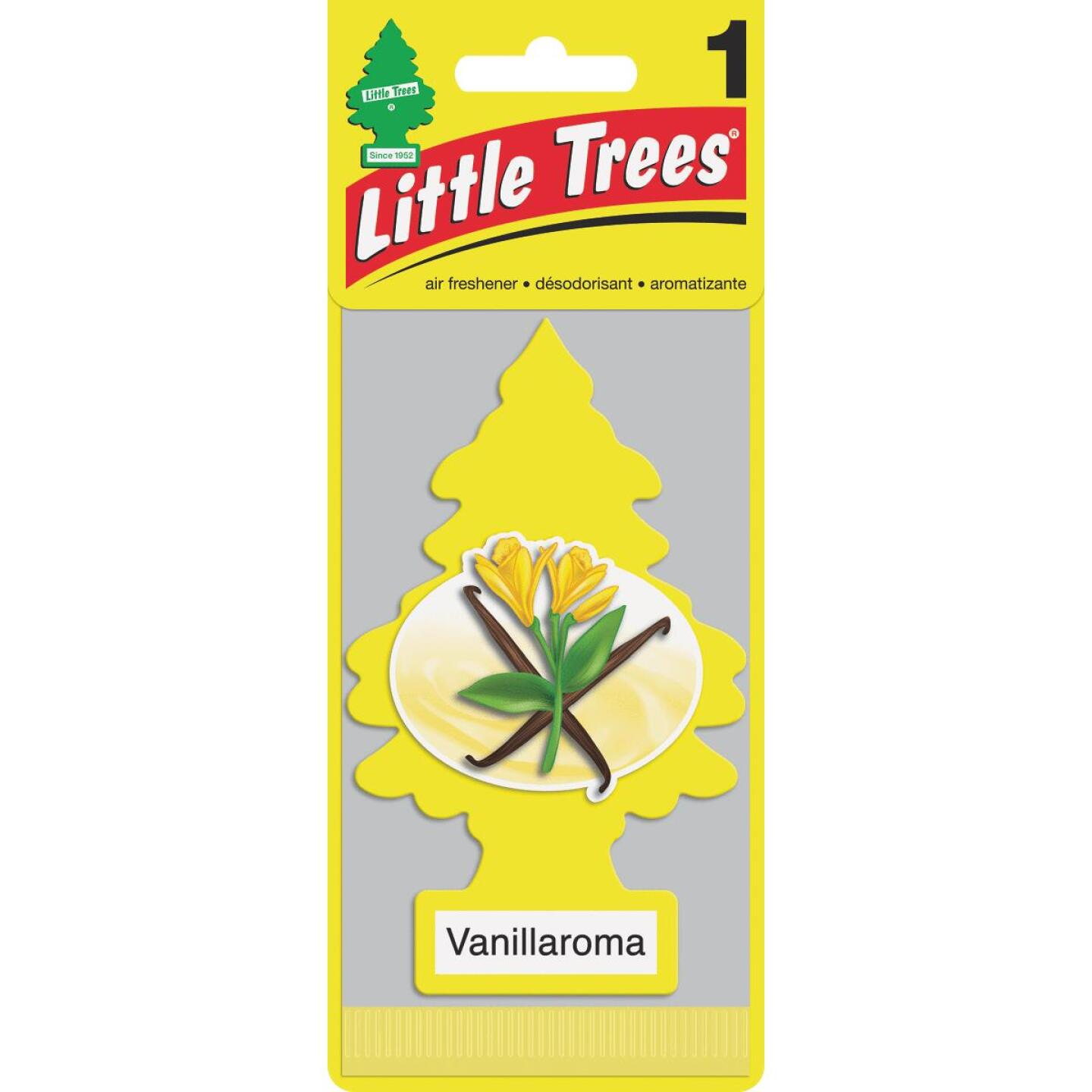 Little Trees Car Air Freshener, Vanillaroma Image 1