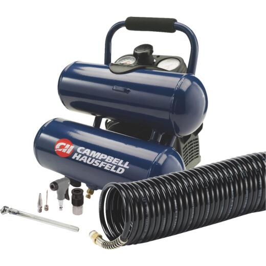 Campbell Hausfeld 2 Gallon Oil-Free Air Compressor with 12-Piece Kit