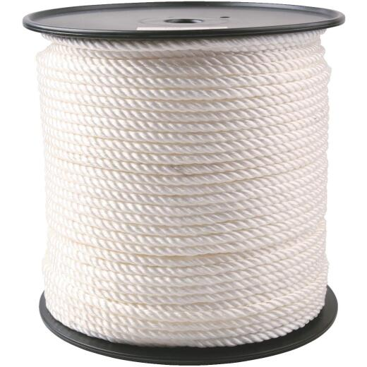 Do it 3/8 In. x 450 Ft. White Twisted Nylon Rope