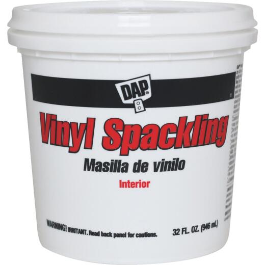 DAP 1 Qt. Heavy-Duty Vinyl Interior Vinyl Spackling Compound
