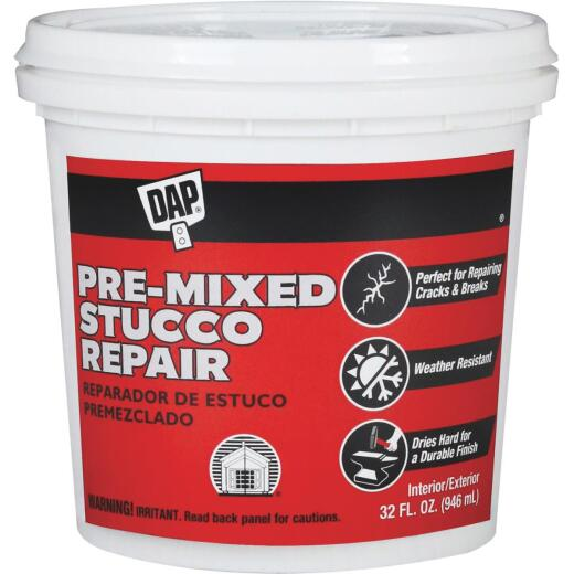 DAP 32 Oz. Pre-Mixed Stucco Patch