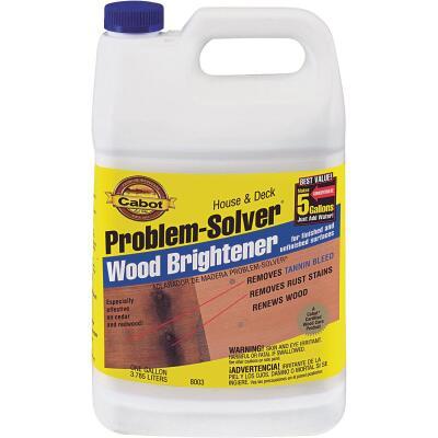 Cabot Problem-Solver 1 Gal. House & Deck Wood Brightener