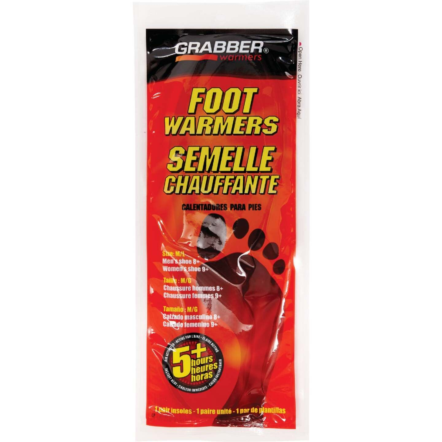Grabber Medium/Large Foot Warmer Image 1