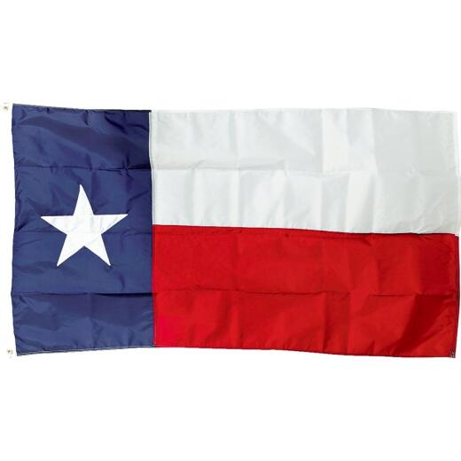 Valley Forge 3 Ft. x 5 Ft. Nylon Texas State Flag